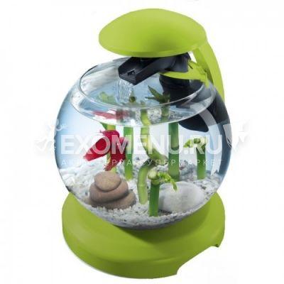 Аквариум Tetra Cascade Globe 6.8l ЗЕЛЕНЫЙ  Круглый аквариум (Диаметр 27.9)