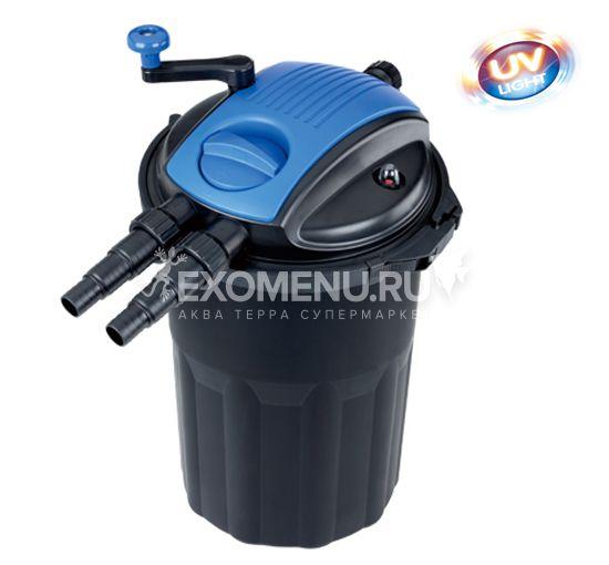 Био-фильтр для пруда, самопромывной, 8000-15000л, уф-лампа 24Вт. BOYU
