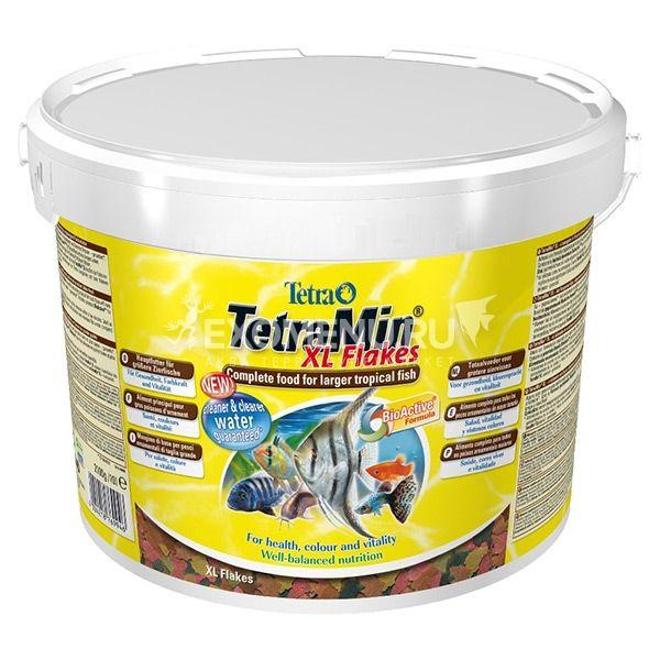 Корм основной  для всех видов рыб Tetra Min XL Flakes 3,6 l