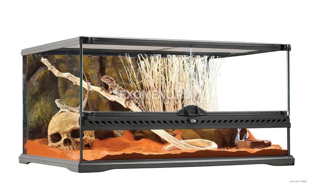 Террариум из силикатного стекла, 60 x 45 x 30 см