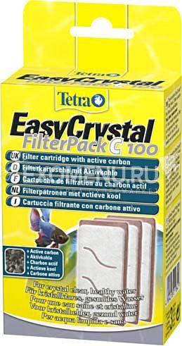 Губка Tetratec EasyCrystal C 100 с акт. углем 211841