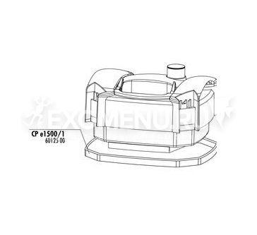 JBL CP e150x/190x pump head washer - Уплотнительная прокладка головы внешнего фильтра фото