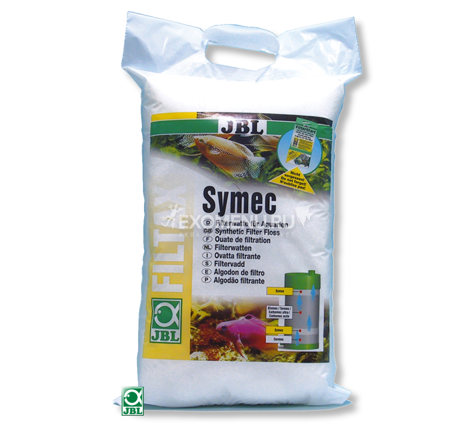 JBL Symec Filter Floss - Синтепон для аквариумного фильтра против любого помутнения воды, 1000 г
