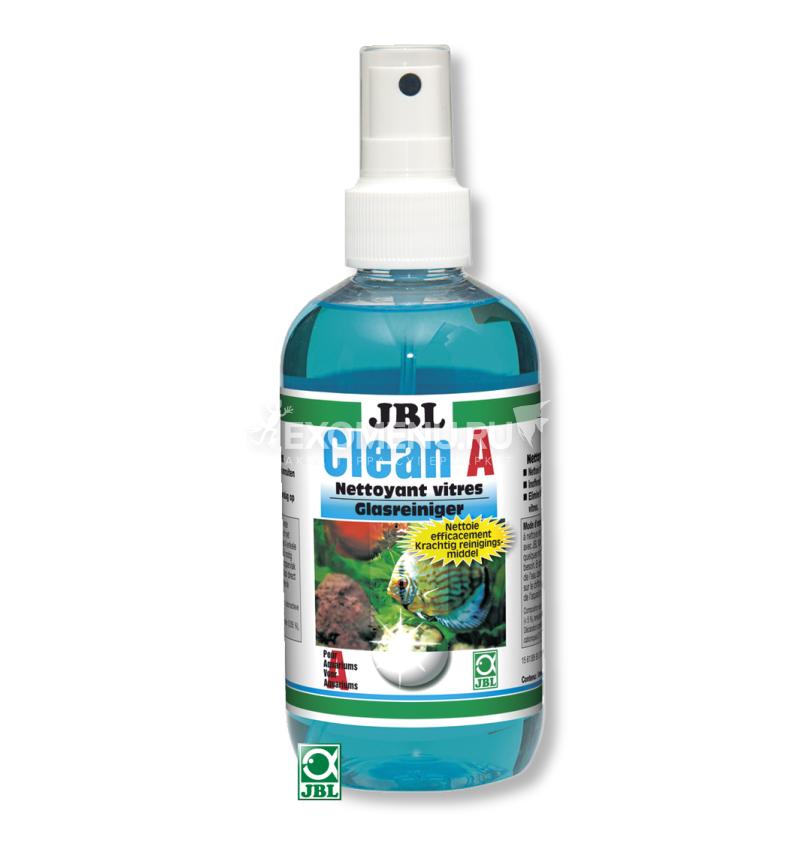 JBL Clean A - Чистящее средство для внешней стороны аквариумных стёкол, 250 мл