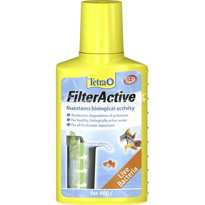 Средство Tetra Filter Active 100ml, для поддержания биологической активности в аквариуме