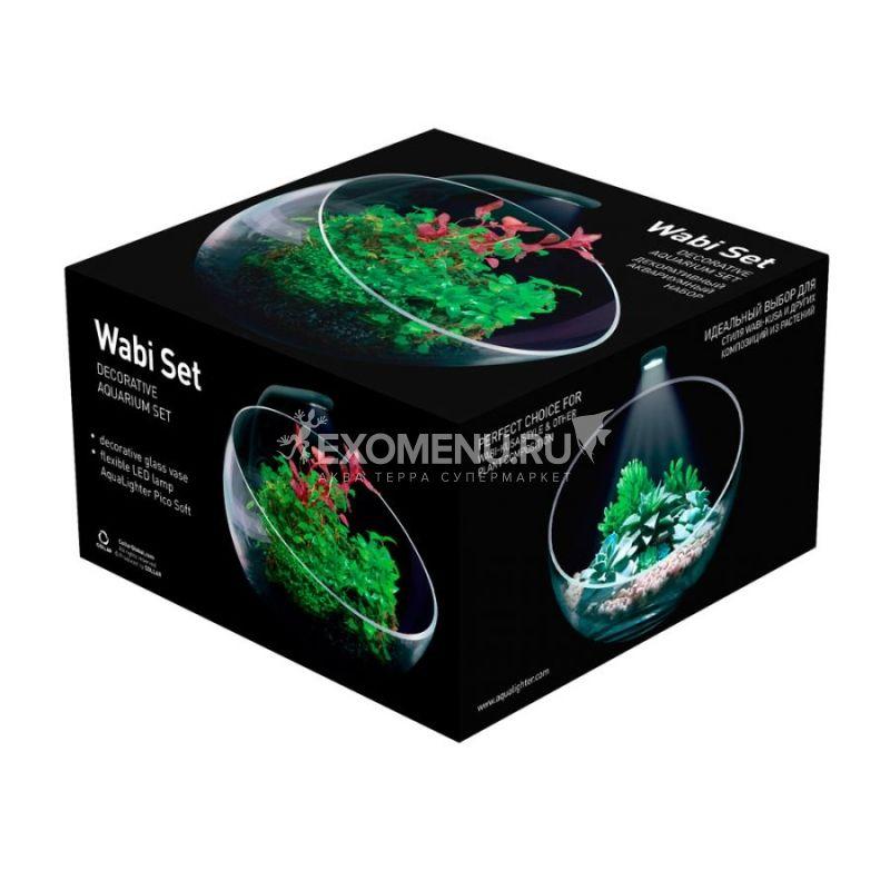 Декоративный аквариумный  набор AquaLighter Wabi Set