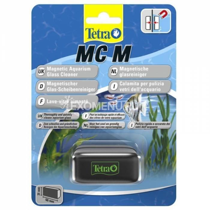 Стеклоочиститель магнитный Tetra MC Magnet Cleaner M для аквариумов с толщиной стекла до 5мм