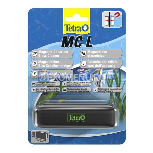 Стеклоочиститель магнитный Tetra MC Magnet Cleaner L, для аквариумов с толщиной стекла до 10мм