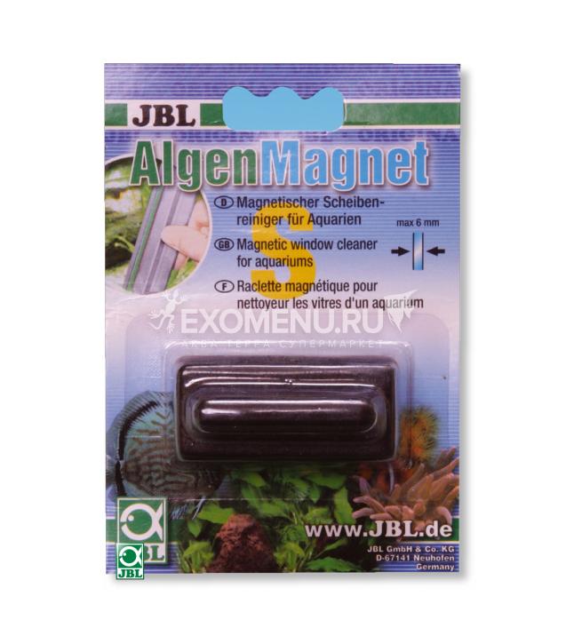 JBL Algae Magnet S - Магнитный скребок для аквариумных стёкол толщиной до 6 мм