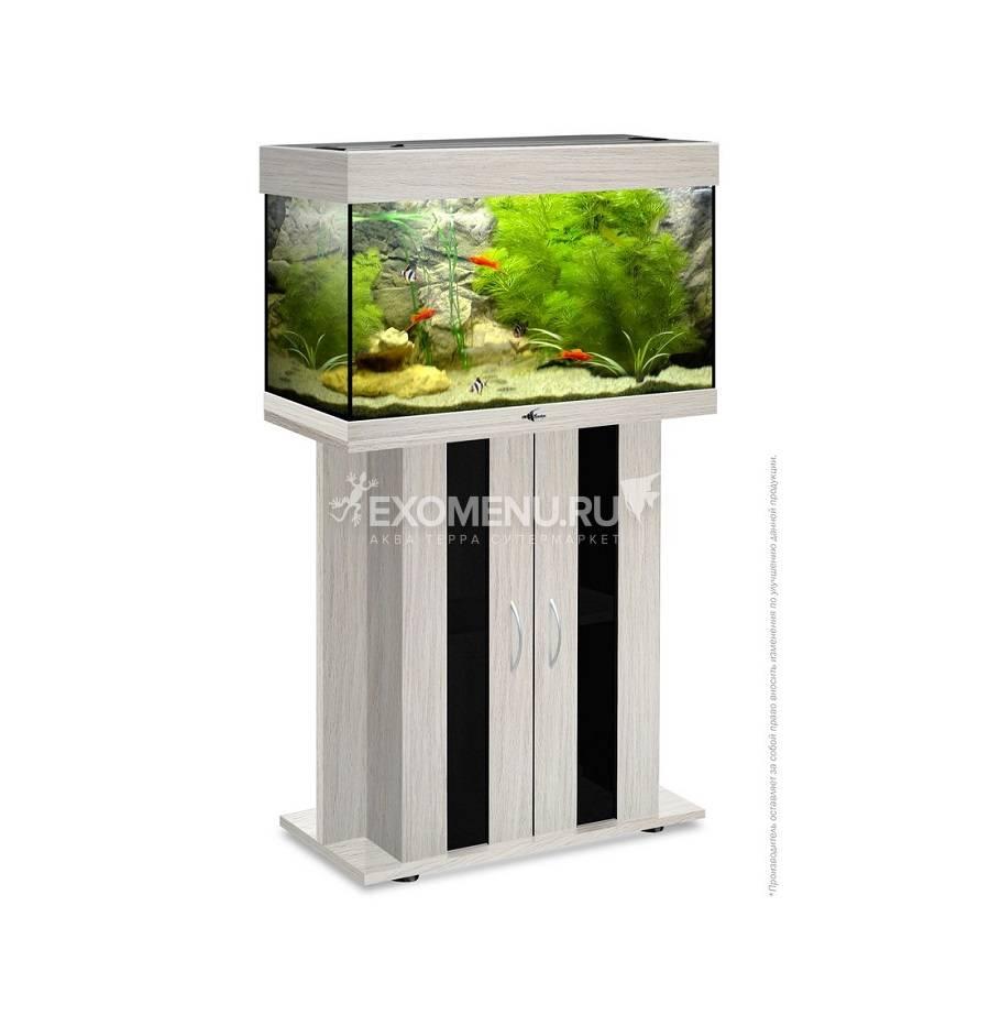 Аквариум Biodesign РИФ 80, 82 л, беленый дуб, 71х33х46 см