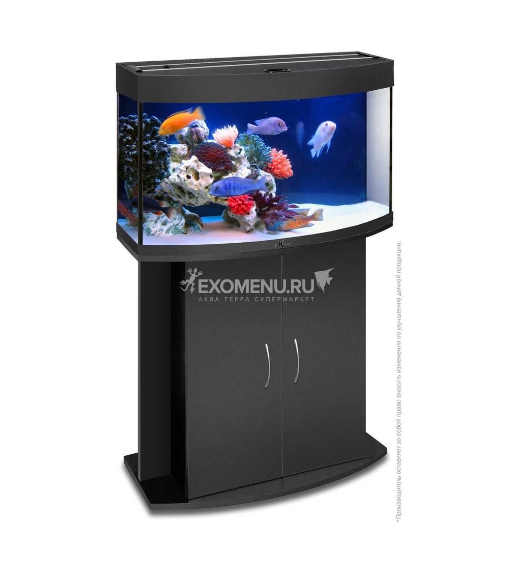 Аквариум Biodesign ПАНОРАМА 100, 98 л, черный, 71х36х52 см