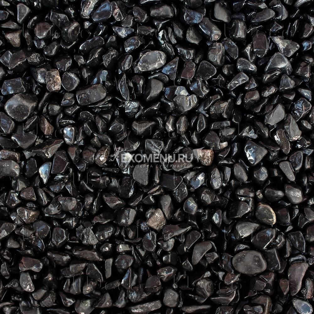 UDeco Canyon Black - Натуральный грунт для аквариумов