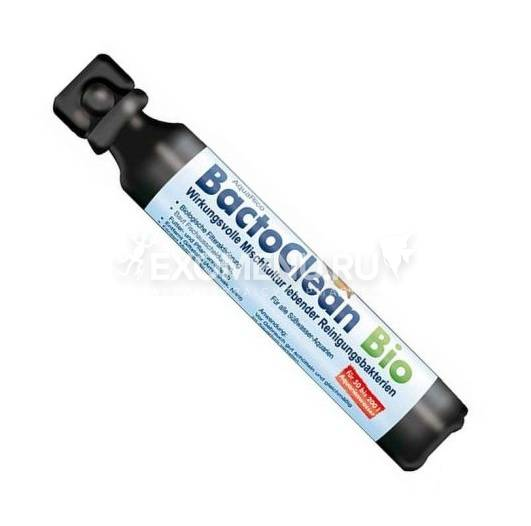 Эффективная смесь культур живых очистительных бактерий Dennerle BactoClean Bio, 50 мл