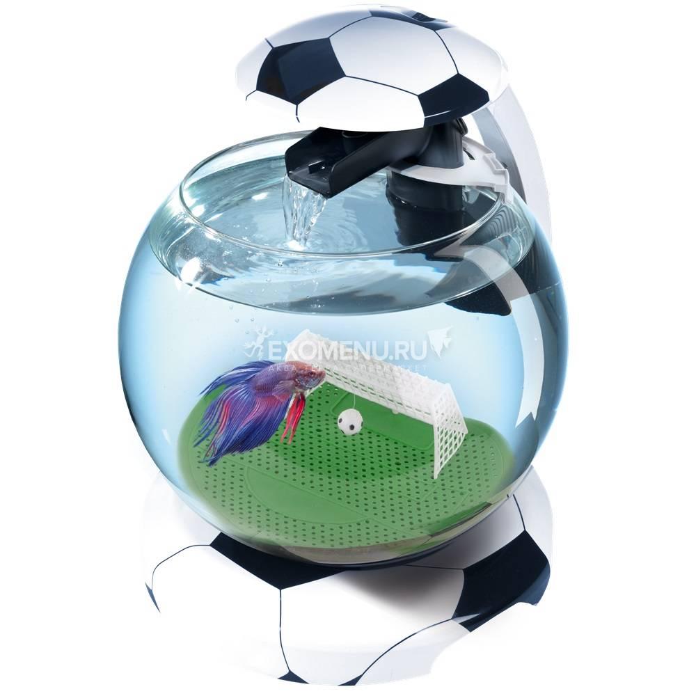Аквариум  Tetra Cascade Globe 6.8l Футбол - Круглый аквариум (Диаметр 27.9)