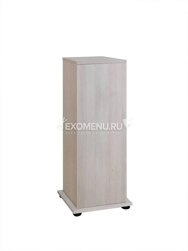 Подставка с дверкой Biodesign Q-SCAPE 30/Q-SCAPE OPTI 35 (бел.дуб) 38х38х98 см