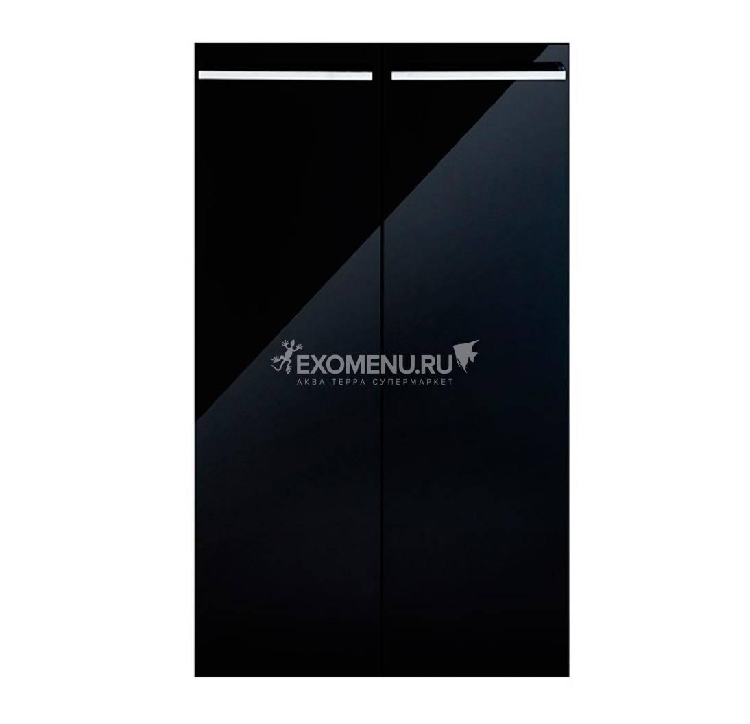 Дверки Ф-250 для подставки CRYSTAL 145/500/ CRYSTAL PANORAMIC 145/500 (чёрный суперглянец) плита ЛДС