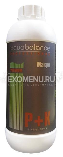 Удобрение для аквариумных растений Макро Aquabalance P+K 1 л