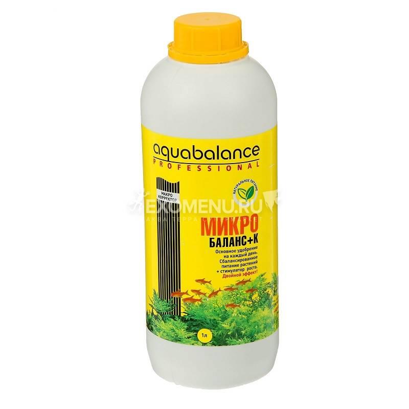 Удобрение для аквариумных растений Aquabalance Микро-баланс+К  1 л
