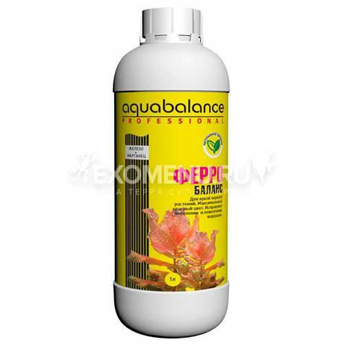 Удобрение для аквариумных растений Aquabalance Ферро-баланс  1 л