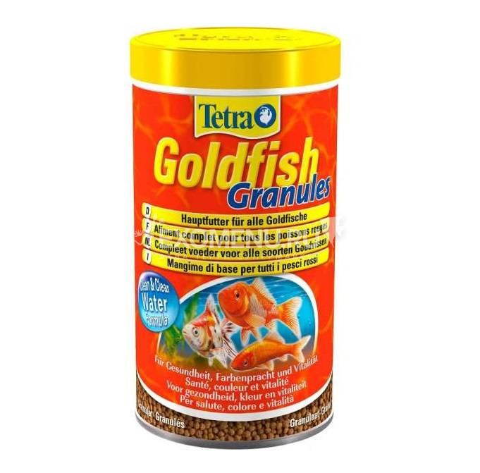 Корм для  холодноводных рыб Tetra Goldfish