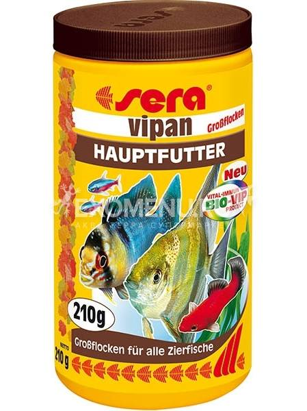 Корм для рыб SERA VIPAN 250 мл (60 г)