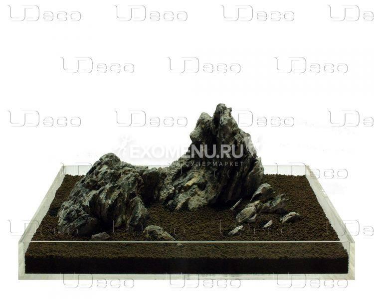 UDeco Mini Landscape MIX SET 30 - Натуральный камень
