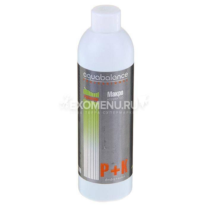Удобрение для аквариумных растений Макро P+K Aquabalance 250 мл