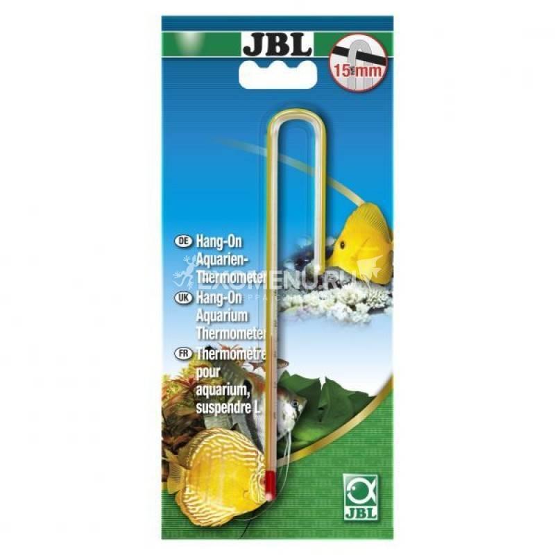 JBL Aquarium Thermometer Hang-on - Точный термометр для подвешивания на стенке аквариума толщиной до 6 мм