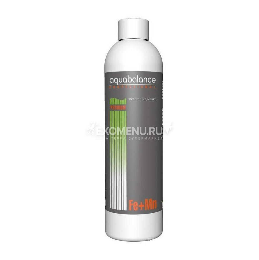 Удобрение для аквариумных растений Fe+Mn Aquabalance 250 мл