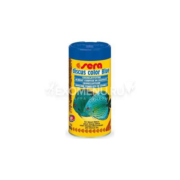 Корм для рыб DISCUS COLOR BLUE 250 мл (116 г) фото