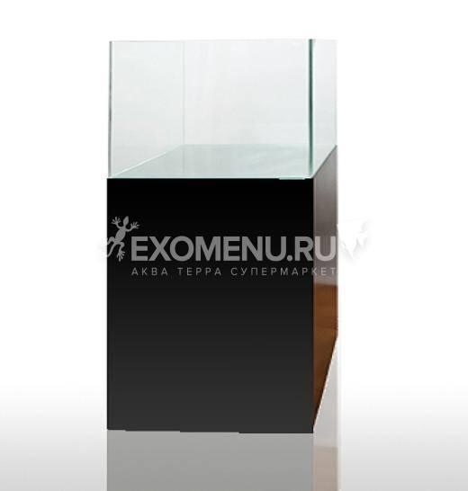Тумба Blau Cabinet черная 62х36х80см +дверка 62х80см для аквариума blau cubic scpaing 80л