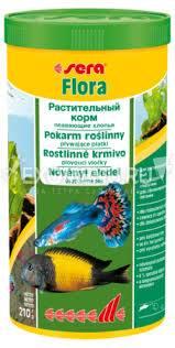 Корм для рыб FLORA 250 мл (60 г).