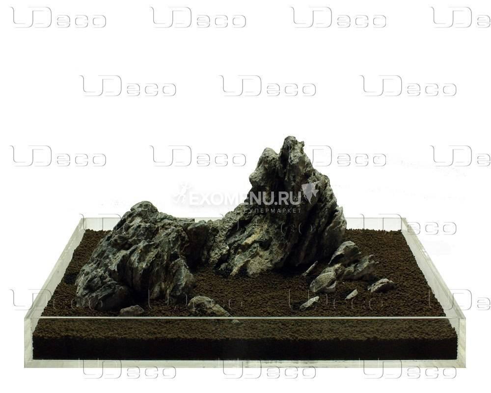 UDeco Mini Landscape MIX SET 12 - Натуральный камень