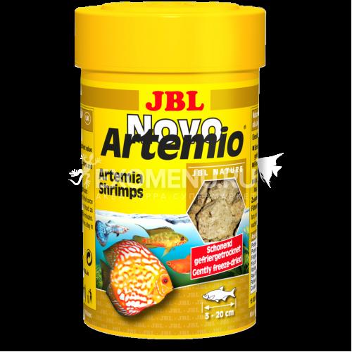 JBL NovoArtemio - Дополнительный корм с артемией для любых аквариумных рыб, 250 мл (18 г) фото