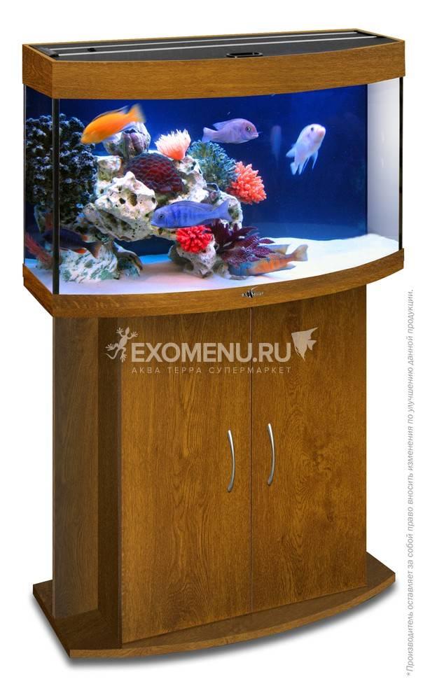 Аквариум Biodesign ПАНОРАМА 100, 98 л, золотой дуб,  71х36х52 см