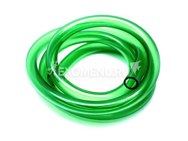 JBL Aquarium tubing GREEN 9/12 - Гибкий шланг для воды, прозрачный зеленый, на катушке (70 м), цена за м