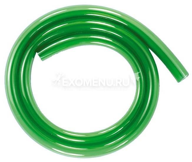 JBL Aquarium tubing GREEN 12/16 - Гибкий шланг для воды, прозрачный зеленый, на катушке (50 м), цена за м