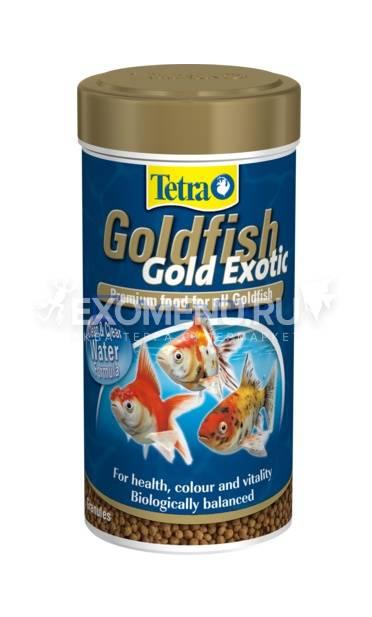 Корм для всех видов золотых рыбок Tetra Gold Exotic 250 ml фото