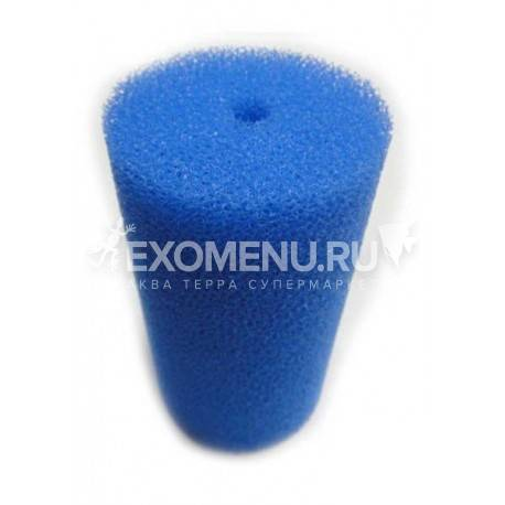 Губка фильтрующая 200х110Dмм PPI 30 синяя
