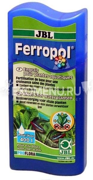 JBL Ferropol - Базовое удобрение для растений в пресноводных аквариумах, 500 мл, на 2000 л фото