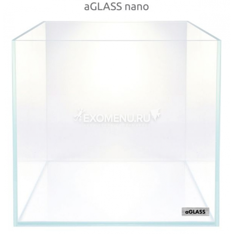 Аквариум AquaLighter aGLASS nano, 10 л, 22х22х22 см