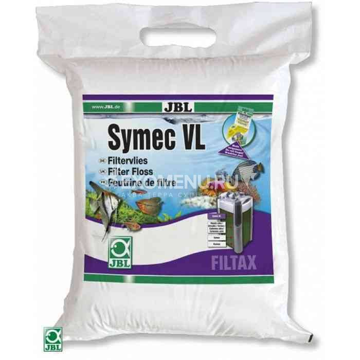 JBL Symec VL - Листовой синтепон для аквариумных фильтров против любого помутнения воды, 80x25x3 cm
