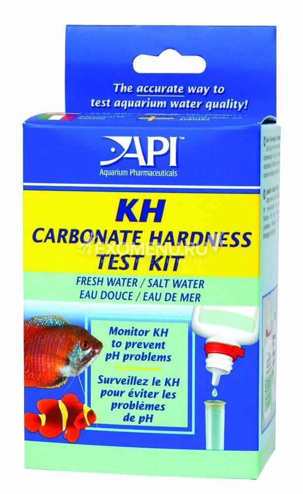 API Карбонат Харднесс Тест Кит - Набор для измерения карбонатной жесткости в пресной и морской воде