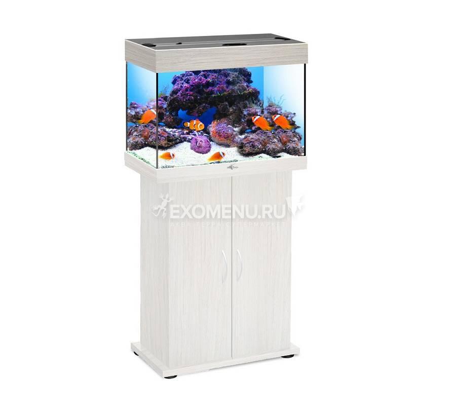 Аквариум Biodesign РИФ 60, 60 л, беленый дуб, 56х32х44 см