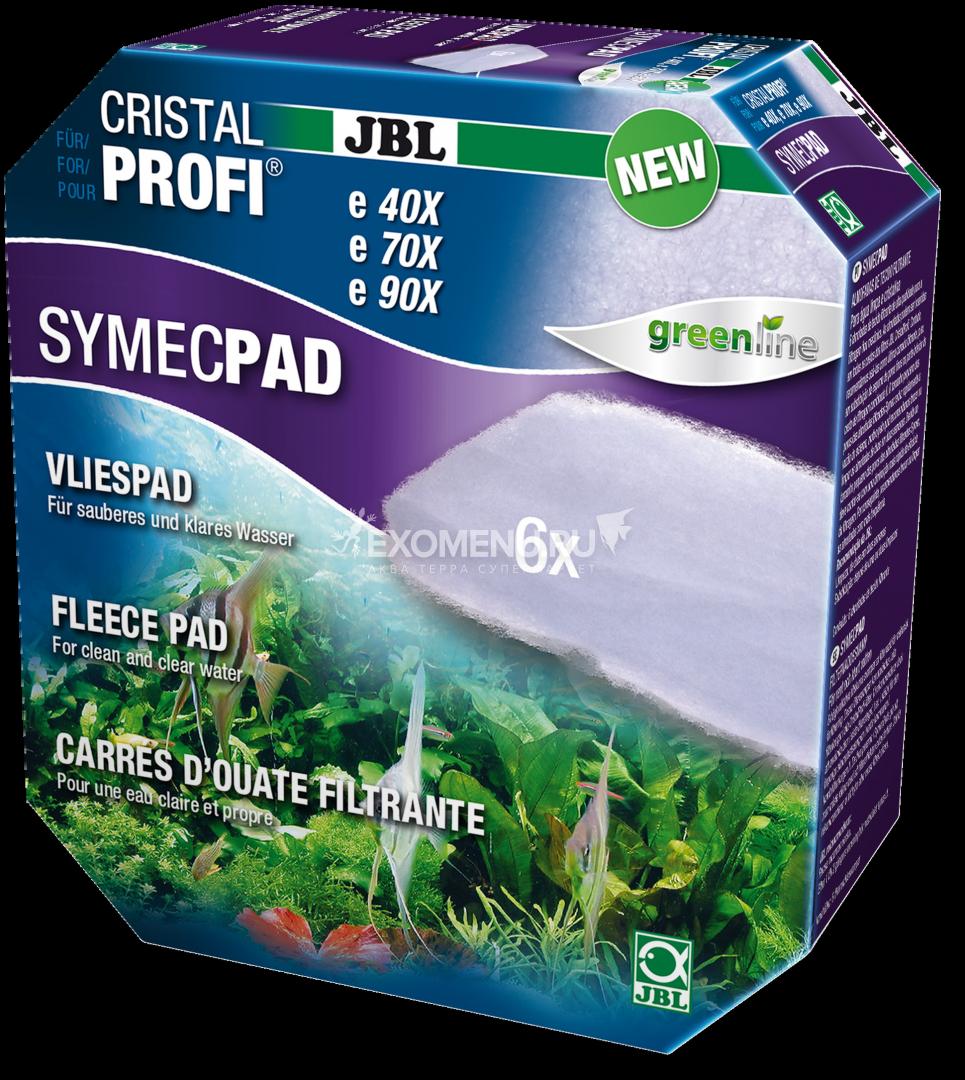 JBL SymecPad II CPe - Синтепоновая прокладка тонкой фильтрации для внешних фильтров JBL CristalProfi e15/1901-2, 6 шт.