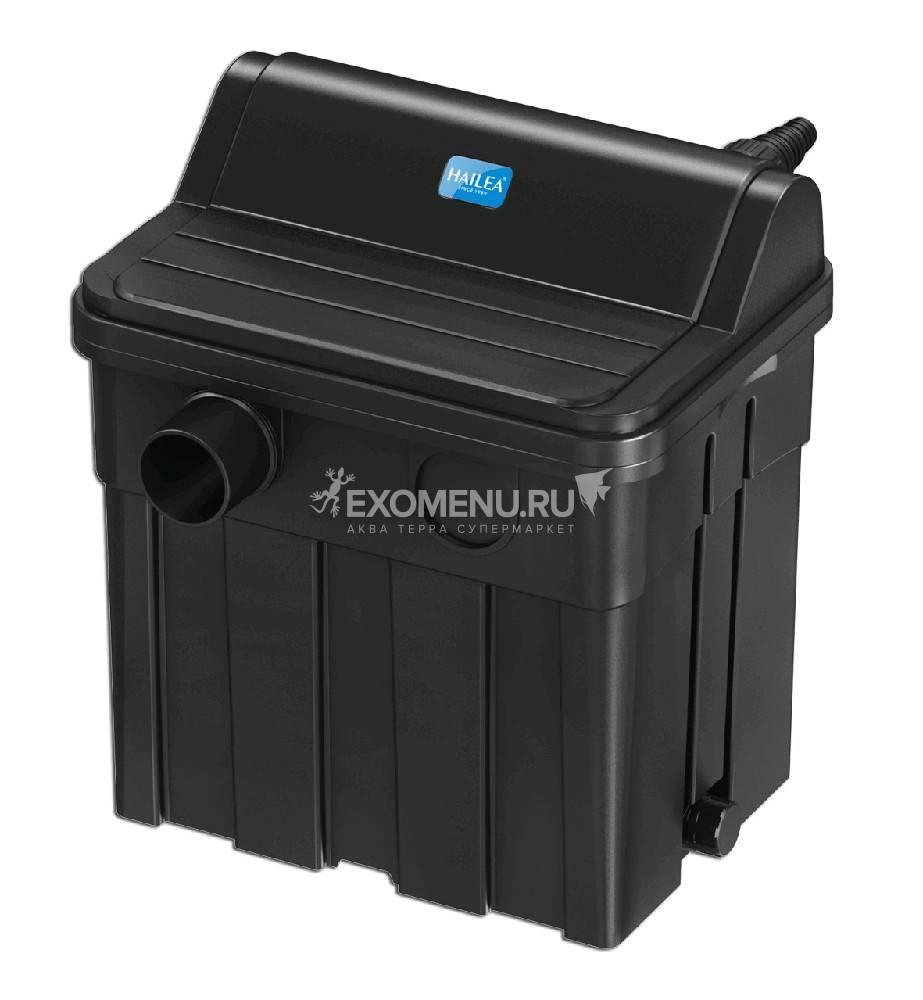 Фильтр Hailea прудовый биомеханический с UV стерилизатором 11 Вт, 4000 л/ч, до 8000 л