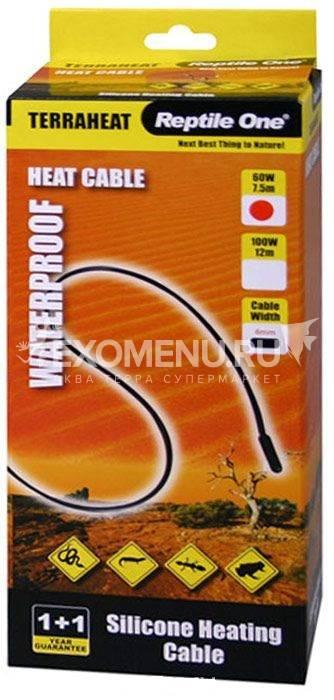 Reptile One Terraheat 100W - Термокабель для террариумов, 100 Вт