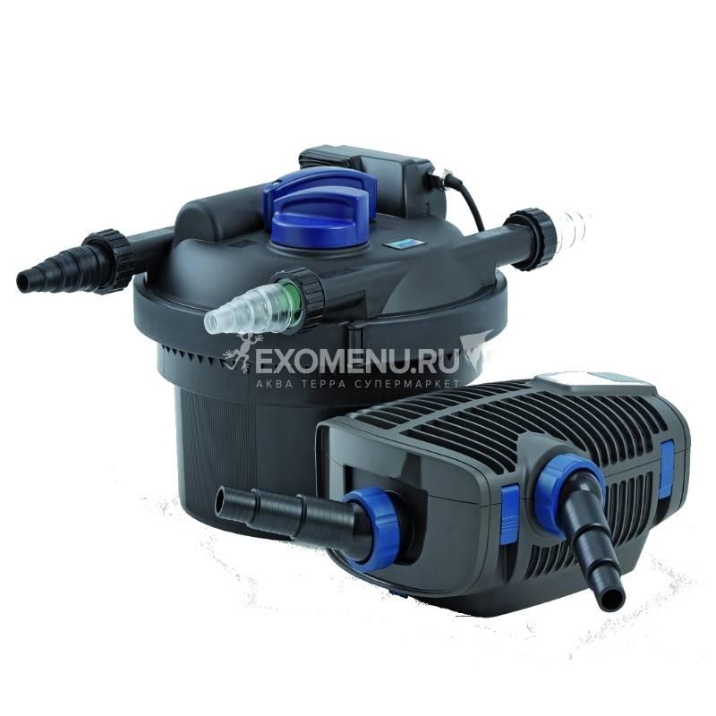 Фильтр напорный Oase FiltoClear Set 3000, 4000 л/ч, УФ