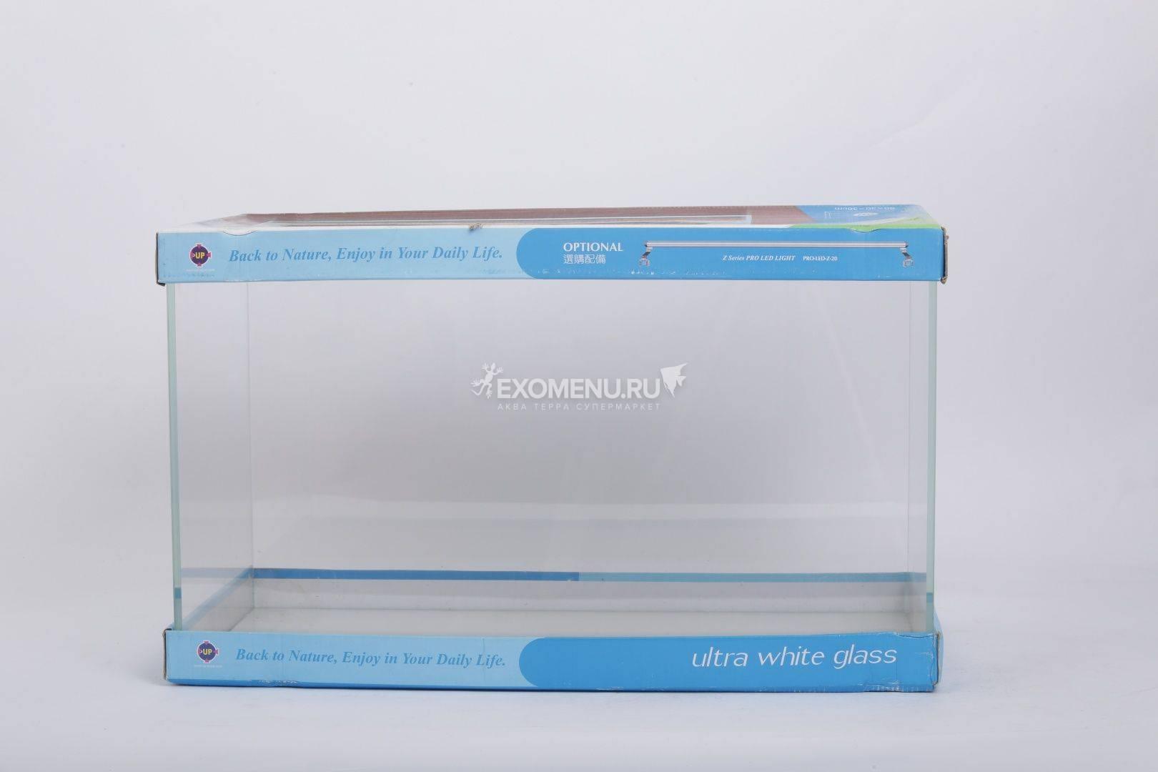 UpAqua Crystal Glass Tank L, 65 л