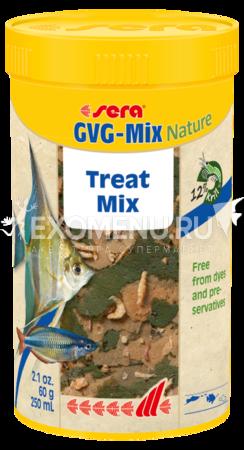 Корм для рыб Sera GVG-Mix Nature 250 мл (60 г).